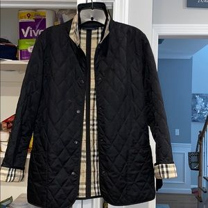Burberry Quilted Jacket size Small